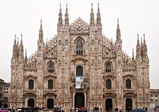 Cathédrale de Milan images libres de droits