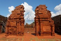 Cathédrale de mission de San Ignacio Images stock