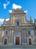 Cathédrale de Monopoli. Apulia. Image libre de droits