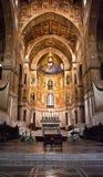 Cathédrale de Monreale- Palerme-Sicile Photographie stock libre de droits