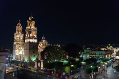 Cathédrale de Morelia Photos stock