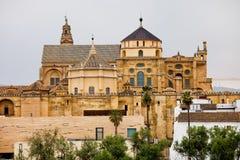 Cathédrale de mosquée de Cordoue en Espagne Photographie stock libre de droits