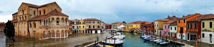 Cathédrale de Murano, Venise Photo stock
