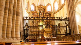 Cathédrale de Murcie Photographie stock