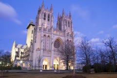 Cathédrale de national de Washington Images libres de droits
