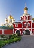 Cathédrale de nativité d'église de Mary et de passage dans la conception c Images stock