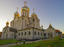Cathédrale de nativité de Mary dans le couvent de conception à Moscou Photographie stock libre de droits