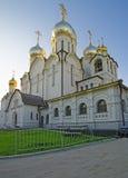 Cathédrale de nativité de Mary dans le couvent de conception à Moscou vi Photo libre de droits