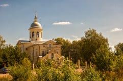 Cathédrale de nativité de Vierge dans Vologda Image stock