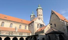 Cathédrale de Naumburg, Saxe-Anhalt, Allemagne Photographie stock libre de droits
