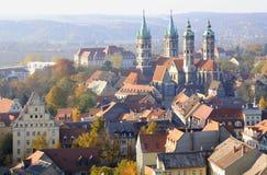 Cathédrale de Naumburg, Saxe-Anhalt, Allemagne Photo stock