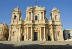 Cathédrale de Noto Photographie stock libre de droits