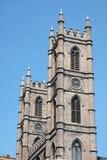 Cathédrale de Notre Dame à Montréal Photographie stock libre de droits