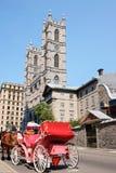 Cathédrale de Notre Dame à Montréal Images stock