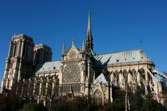 Cathédrale de Notre Dame Image libre de droits