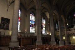 Cathédrale de Notre Dame, Luxembourg Images libres de droits
