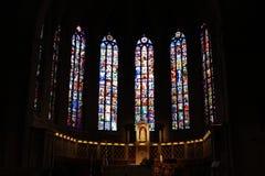 Cathédrale de Notre Dame, Luxembourg Photographie stock
