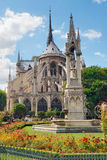 Cathédrale de Notre Dame, Paris Image libre de droits