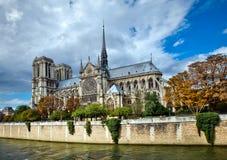Cathédrale de Notre Dame - Paris photo libre de droits