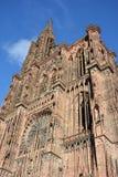 Cathédrale De Notre Dame de Strasbourg photos stock