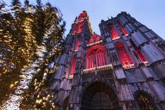 Cathédrale de notre Madame à Anvers Image libre de droits