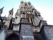 Cathédrale de notre Madame de Reims photos stock