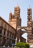 Cathédrale de Palerme. La Sicile. Italie Photos stock