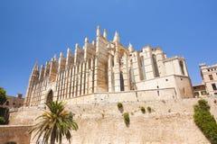 Cathédrale de Palma de Majorca, île Majorca, Espagne Photos stock