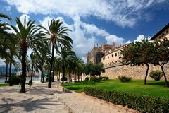 Cathédrale de Palma de Majorca Photo stock