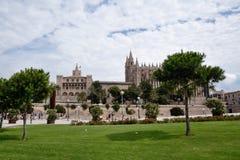 Cathédrale de Palma de Majorca Images libres de droits
