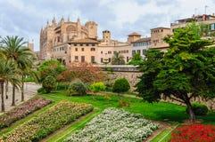 Cathédrale de Palma de Mallorca Photos libres de droits