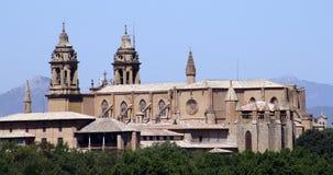Cathédrale de Pamplona. Photographie stock libre de droits
