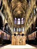 Cathédrale de Paris Notre Dame Photos stock