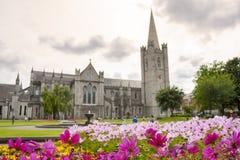 Cathédrale de Patrick de saint à Dublin Photos stock