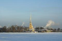 Cathédrale de Paul et de Peter à St Petersburg photographie stock libre de droits