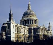 Cathédrale de pauls de rue Image libre de droits