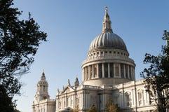Cathédrale de Pauls de saint, Londres, R-U Photo libre de droits