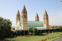 Cathédrale de Pecs Image stock
