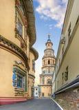 Cathédrale de Peter et de Paul à Kazan Le Tatarstan, Russie Photos libres de droits