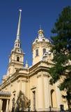 Cathédrale de Peter et de Paul à Pétersbourg Images libres de droits