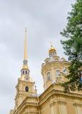 Cathédrale de Peter et de Paul Images libres de droits