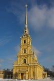 Cathédrale de Peter et de Paul dans la forteresse de St Petersburg Image stock