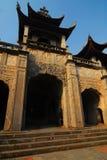 Cathédrale de Phat Diem, Vietnam Images stock