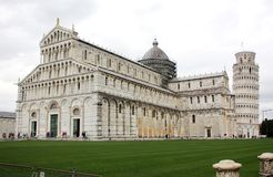 Cathédrale de Pise Tour de Pise l'Italie pise image libre de droits