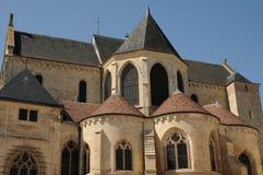 Cathédrale de Pontoise Image libre de droits