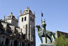 Cathédrale de Porto Images libres de droits