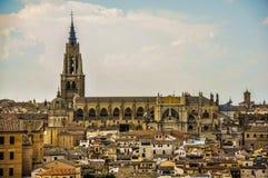 Cathédrale de primat de St Mary de Toledo, Espagne images libres de droits