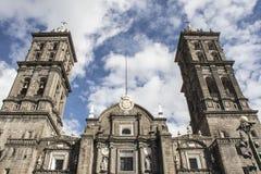 Cathédrale de Puebla photo libre de droits