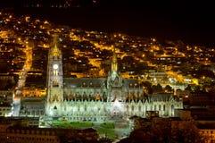Cathédrale de Quito, Equateur. Image libre de droits