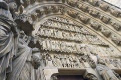 Cathédrale de Reims Photos stock